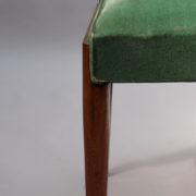1602-12 chaises hautes velours vert00017