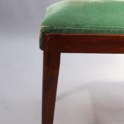 1602-12 chaises hautes velours vert00018