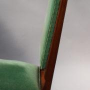 1602-12 chaises hautes velours vert00019