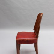 1747-6Chaises+2fauteuils SM Maxime Old cuir rouge 00010