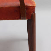 1747-6Chaises+2fauteuils SM Maxime Old cuir rouge 00032