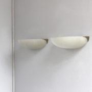 1792-Paire appliques Perzel 1_4 de sphere griffes sur le cote chrome 00017