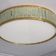 1797-Paire de grands colliers de la reine tambours Perzel poli vernis (10)