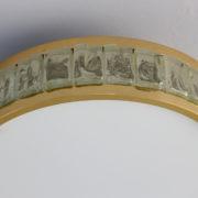 1802-Plafonnier tambour Perzel collier de la reine fin 35 redore (12)