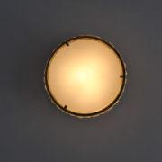 1802-Plafonnier tambour Perzel collier de la reine fin 35 redore (7)