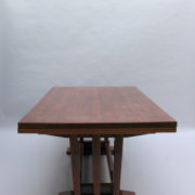1748-Table SM Maxime Old cuir rouge 00006