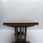 1748-Table SM Maxime Old cuir rouge 00007