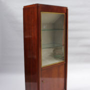 1749-vitrine haute SM Maxime Old cuir rouge 00013