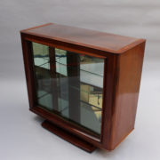 1750-Vitrine basse SM Maxime Old cuir rouge 00005