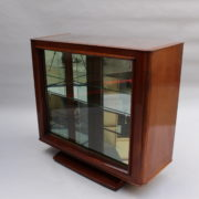 1750-Vitrine basse SM Maxime Old cuir rouge 00006