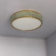 1797-Paire de grands colliers de la reine tambours Perzel poli vernis00002