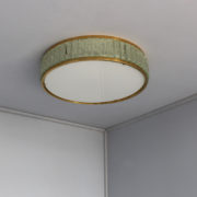 1797-Paire de grands colliers de la reine tambours Perzel poli vernis00007