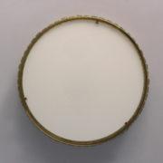 1797-Paire de grands colliers de la reine tambours Perzel poli vernis00011