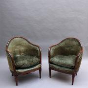1726-4 fauteuils gondoles 192500004