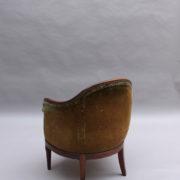 1726-4 fauteuils gondoles 192500010