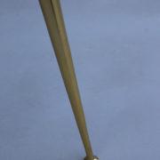1307-Gueridon metal dore deux plateaux5