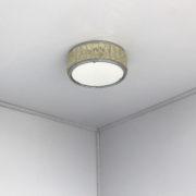 1804-Plafonnier Perzel collier de la reine 35 chrome 2