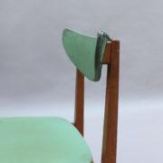 1824-4 chaises 50's vert d'eau (15)