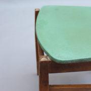 1824-4 chaises 50's vert d'eau (16)