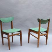 1824-4 chaises 50's vert d'eau (3)