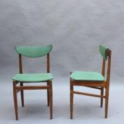 1824-4 chaises 50's vert d'eau (4)