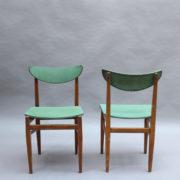 1824-4 chaises 50's vert d'eau (5)