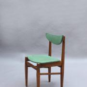 1824-4 chaises 50's vert d'eau (7)