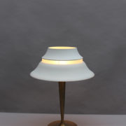 1844-Lampe a poser Perzel classique patine medaille (11)