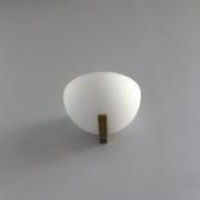 1850-Applique Perzel 1065 demi-sphere potence doree7