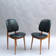 30- 1823 -6 chaises Baumann Guariche