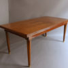 A Fine French Art Deco Extendable Walnut Dining Table by Jules Leleu