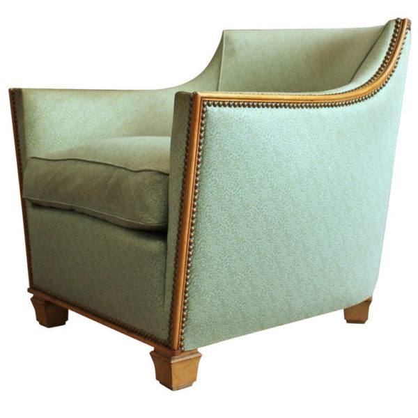 A Fine French Art Deco Armchair by Dominique