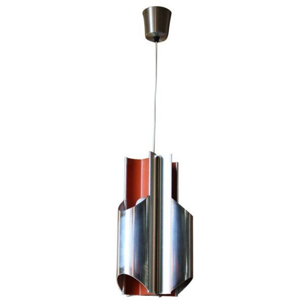 A 1960s Danish Pendant by Bent Karlby for Lyfa