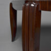 A Fine French Art Deco Mahogany Dining Table in the style of Jean Pascaud