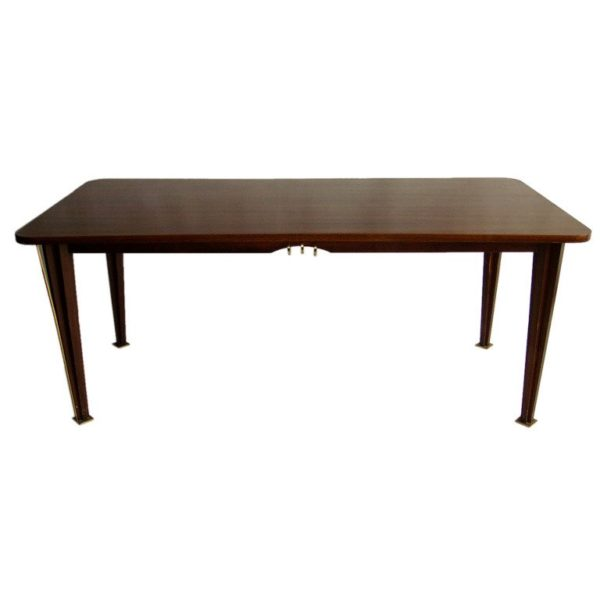 A Fine French 1950s Rosewood Dining Table