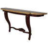 Fine French Art Deco Mahogany and Marble Console in the Manner of Arbus