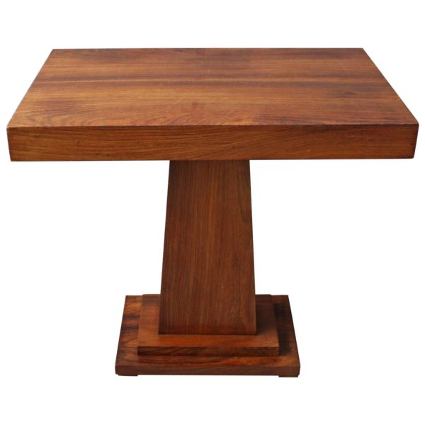 A Fine French Art Deco Rosewood Gueridon / Console
