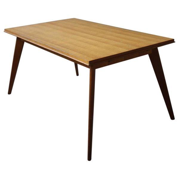 A Fine 1950's Compass Oak Table
