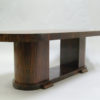 Fine Large French Art Deco Oval Dining Table