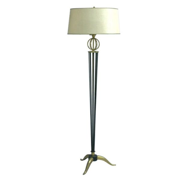 Fine French 1950s Floor Lamp by Arlus