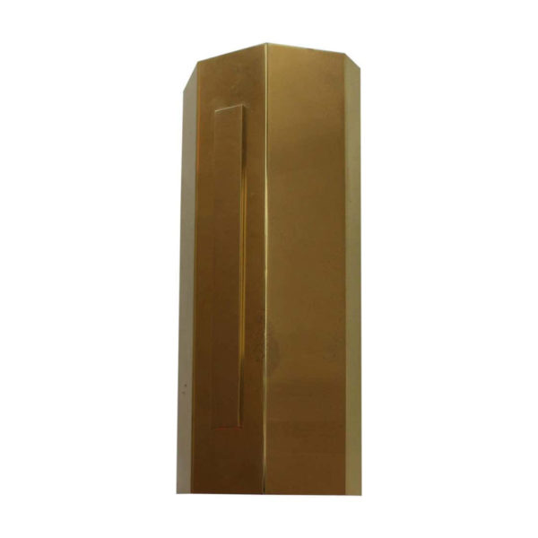 8 Large Fine French 1970's Bronze Sconces by Jean Perzel