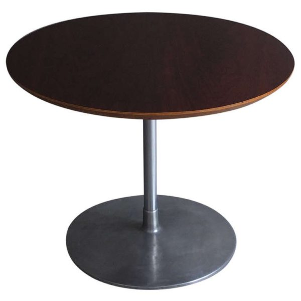 A Fine French 1960s Round Gueridon or Side Table by Pierre Paulin