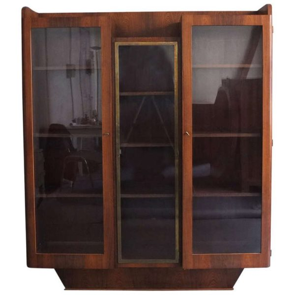 French Art Deco Bookcase or Vitrine