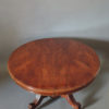 A Fine Large French 19th Century Solid Mahogany Oval Table