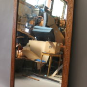 1389-Miroir cadre fleuri