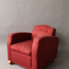 A Fine French Art Deco Club Chair by Jules Leleu
