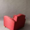 A Fine French Art Deco Club Chair by Jules Leleu