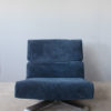 4 French 1970's Swivel Lounge Chairs by Tito Agnolli & Steiner