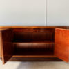 Fine French Art Deco Sideboard with Two Carved Center Doors by Maison Guerin