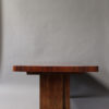 A Fine French Art Deco Modernist Mahogany Dining Table